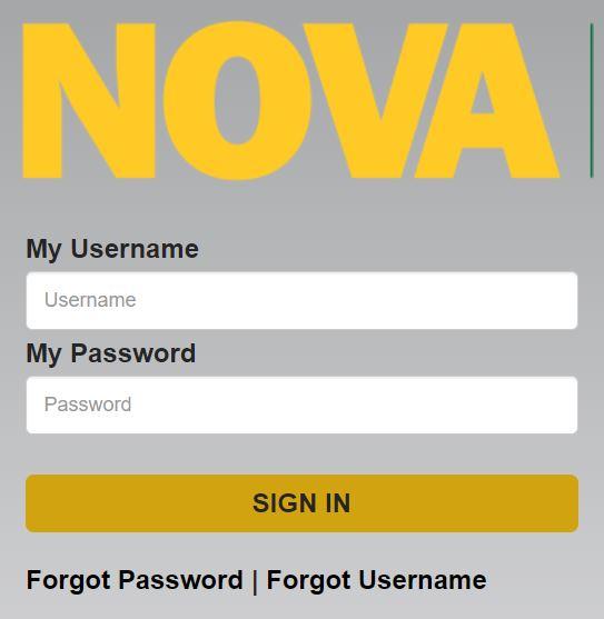 mynova login