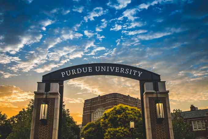 Brightspace Purdue Learning Management System.