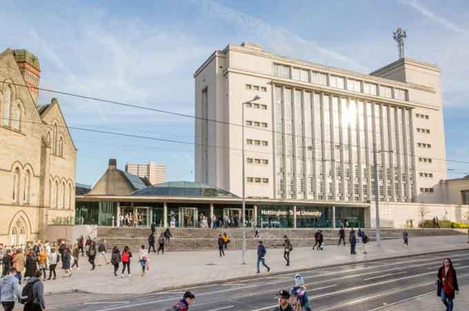 Nottingham Trent University NTU NOW Learning management system