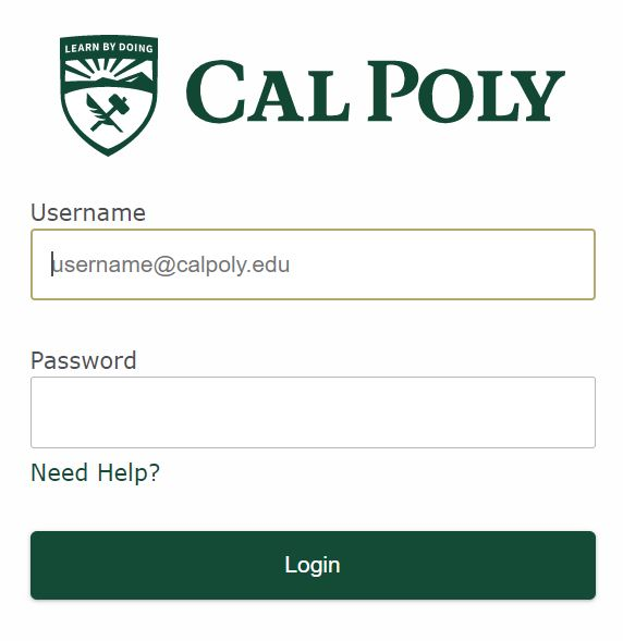 my cal poly portal