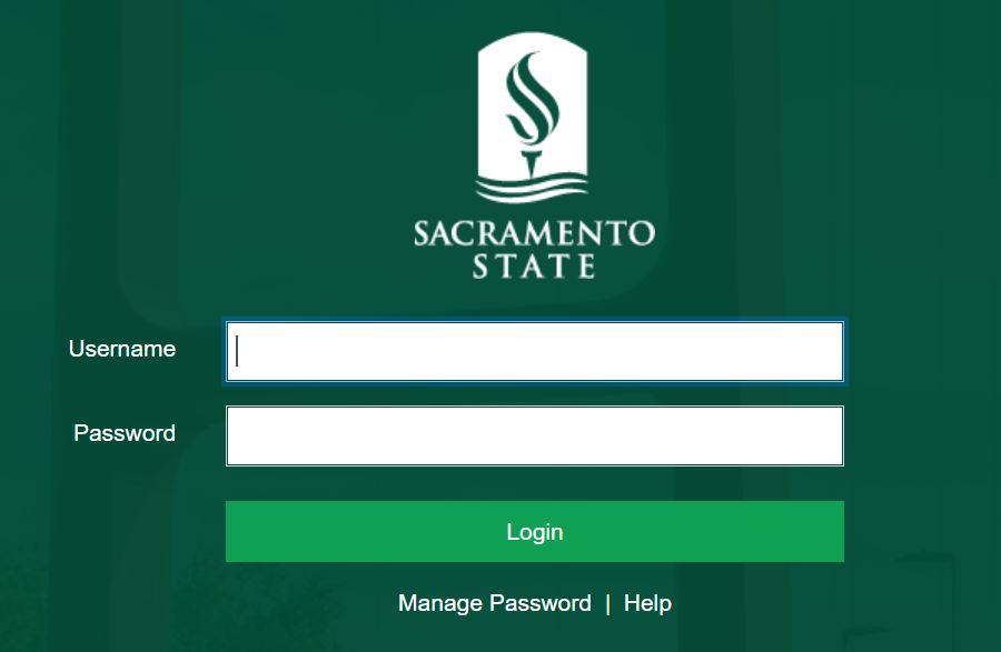 My Sac State login.