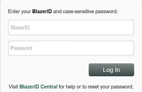 UAB Blazernet login.